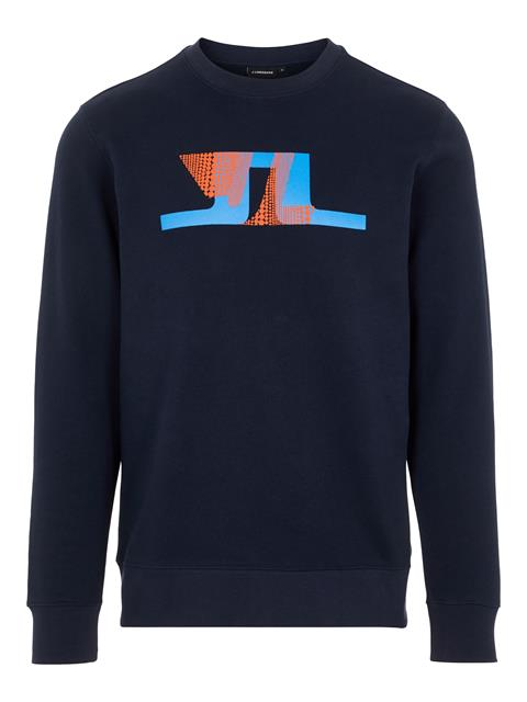 Mens Thrust Sweatshirt JL Navy