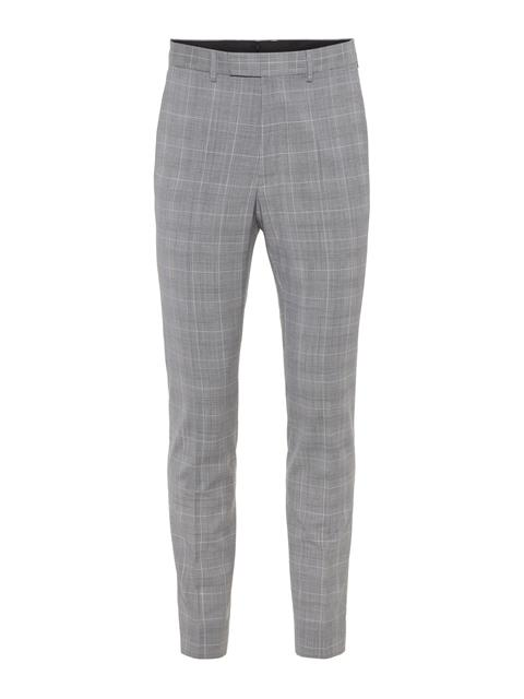 Mens Grant Voyager Wool Pants Cloud White