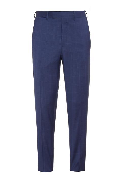 Mens Grant Voyager Wool Pants Mid Blue
