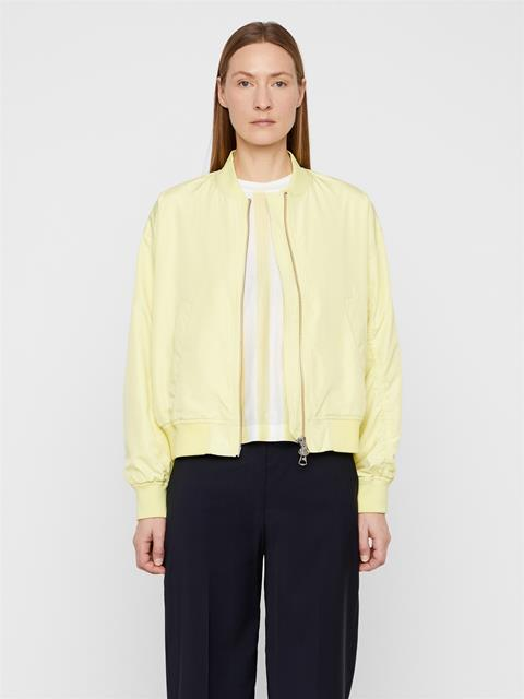Womens Beegee Bomber Jacket Still Yellow