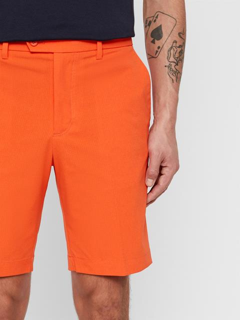 Mens High Vent Shorts Tomato Red