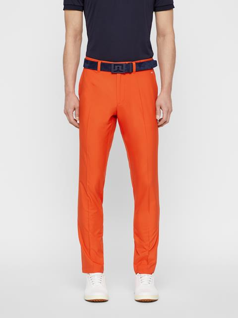 Mens Elof Light Poly Pants Tomato Red
