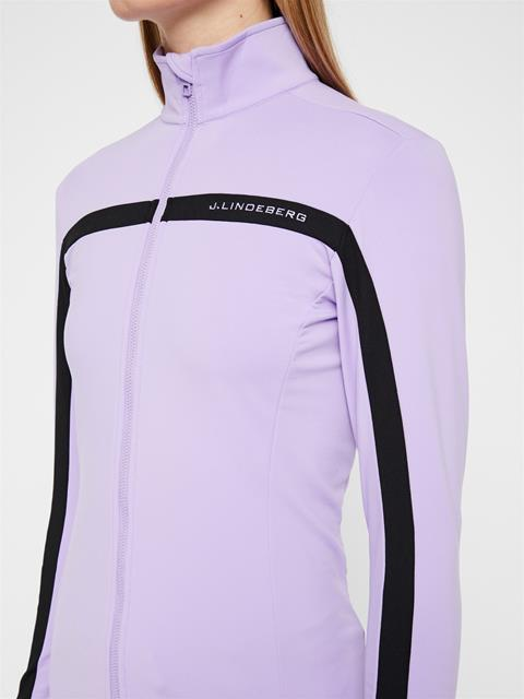 Womens Janice Light Midlayer Tulip Purple