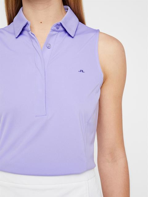 Womens Dena TX Jersey Polo Tulip Purple