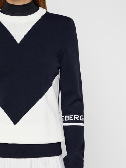 Womens Celine Sweater JL Navy