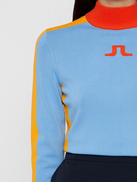 Womens Adia Sweater Lake Blue