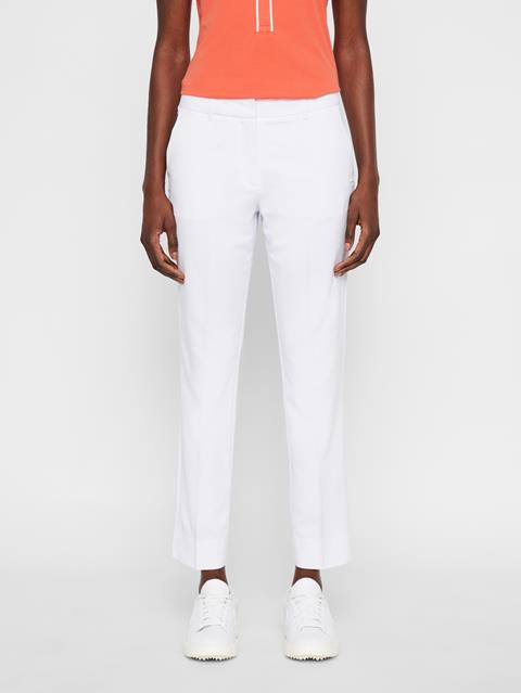 Womens Kaia Light Poly Stretch Pants White