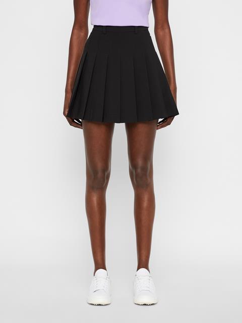 Womens Adina Skirt-Micro Stretch Black