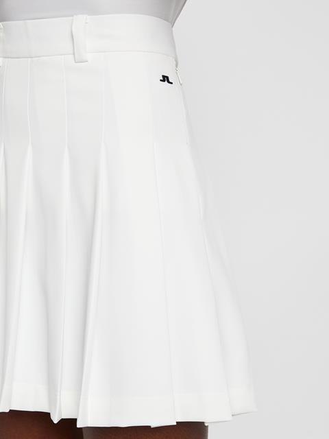 Womens Adina Skirt-Micro Stretch White
