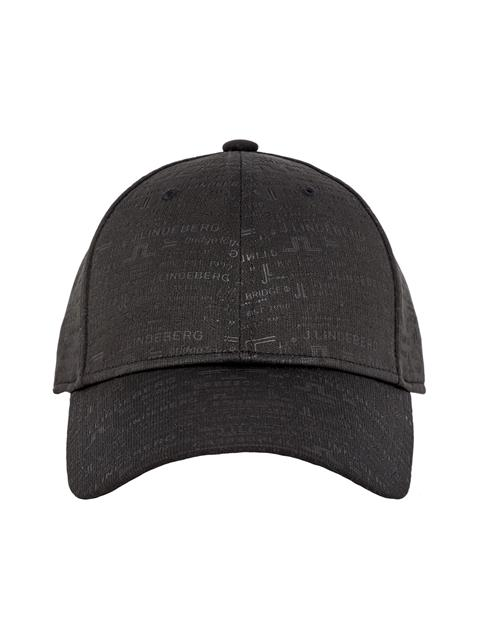 Mens Archive Print Cap Black