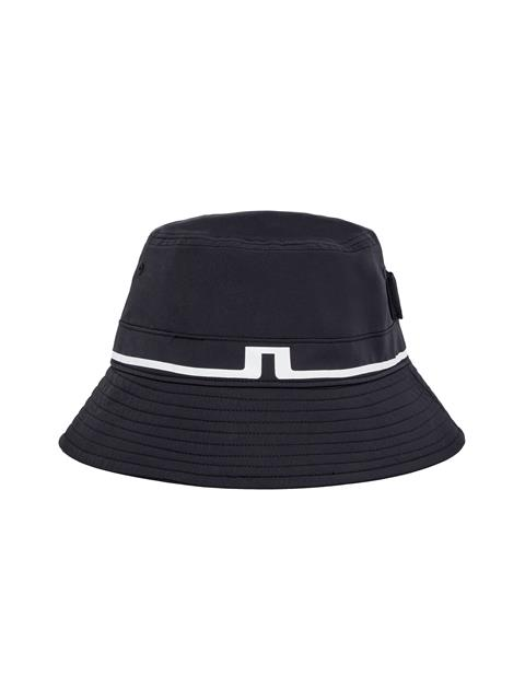 Mens Hank Bucket Hat Black