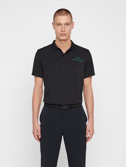 Mens Bridge TX Jersey Polo Black