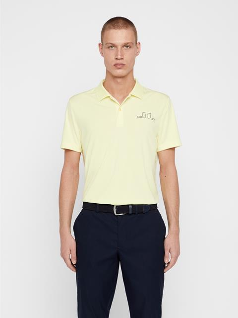 Mens Bridge TX Jersey Polo Still Yellow
