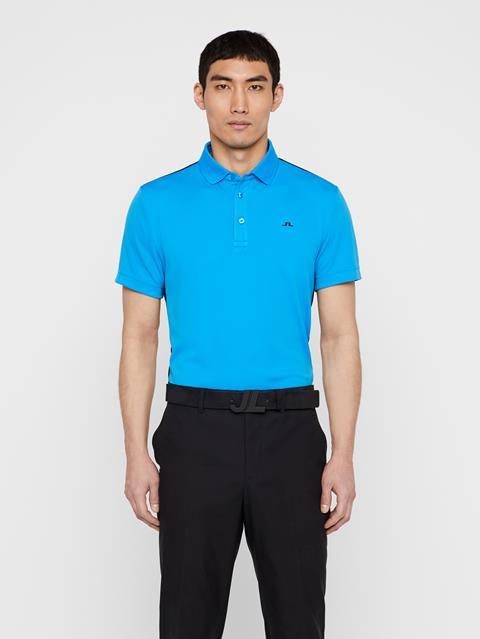 Mens Loke Tour Dry Polo True Blue