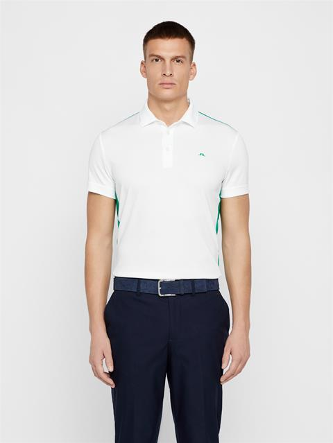 Mens Loke Tour Dry Polo White