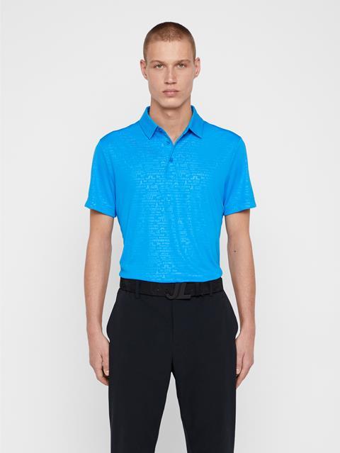 Mens Pine TX Jersey Polo True Blue
