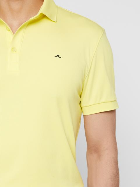 Mens Stan Club Pique Polo Still Yellow