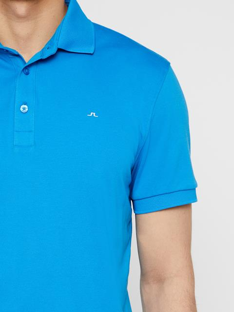Mens Stan Club Pique Polo True Blue