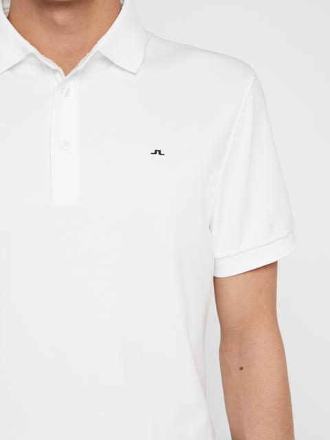 Mens Stan Club Pique Polo White