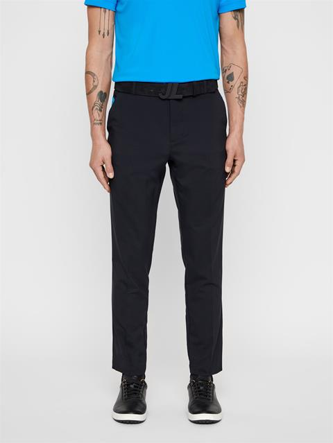 Mens Johan Light Poly Stretch Pants Black