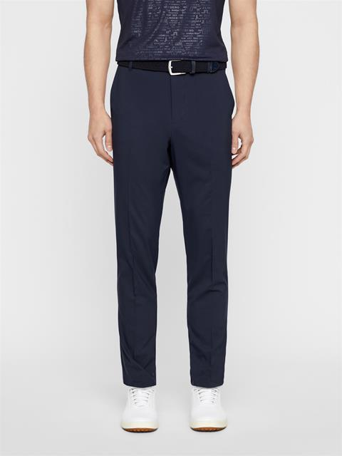 Mens Johan Light Poly Stretch Pants JL Navy