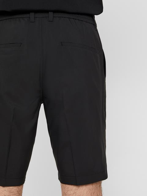 Mens Dex Light Poly Stretch Shorts Black