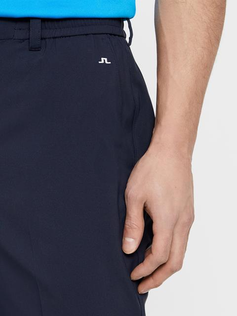 Mens Dex Light Poly Stretch Shorts JL Navy