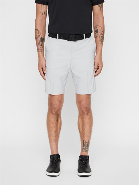 Mens Dex Light Poly Stretch Shorts Stone Grey