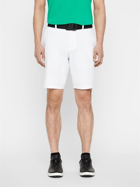 Mens Dex Light Poly Stretch Shorts White