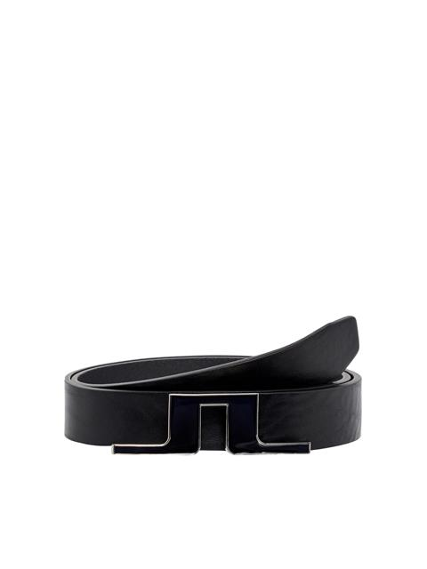 Womens Betsy Leather Belt Black