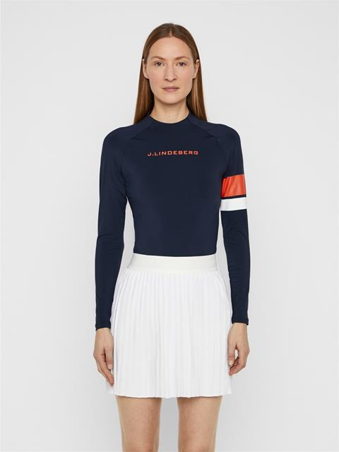 Womens Shay Compression Top JL Navy