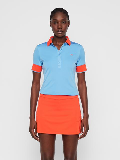 Womens Lexie TX Coolmax Polo Lake Blue
