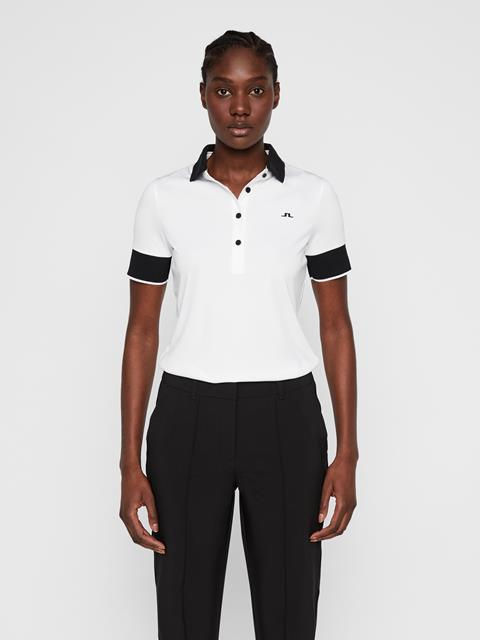 Womens Lexie TX Coolmax Polo White