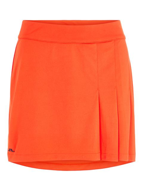Womens Thea TX Jersey Skirt Tomato Red