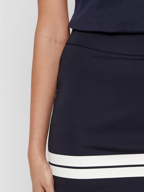 Womens Olga TX Jersey Skirt JL Navy