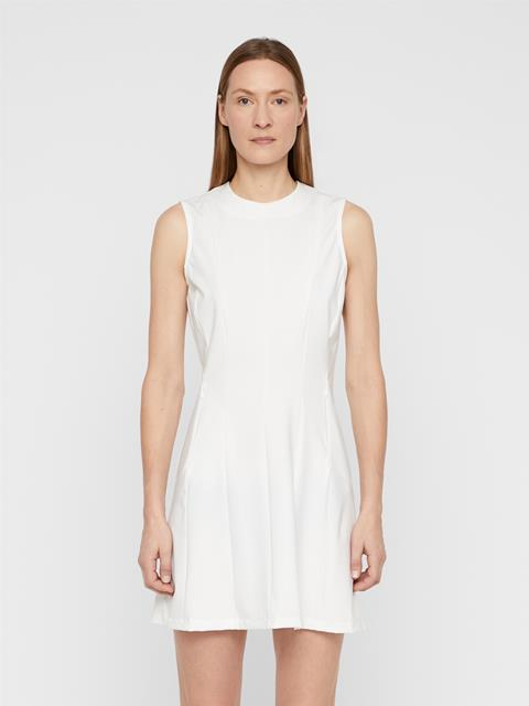 Womens Jasmin Lux Sculpt Dress White