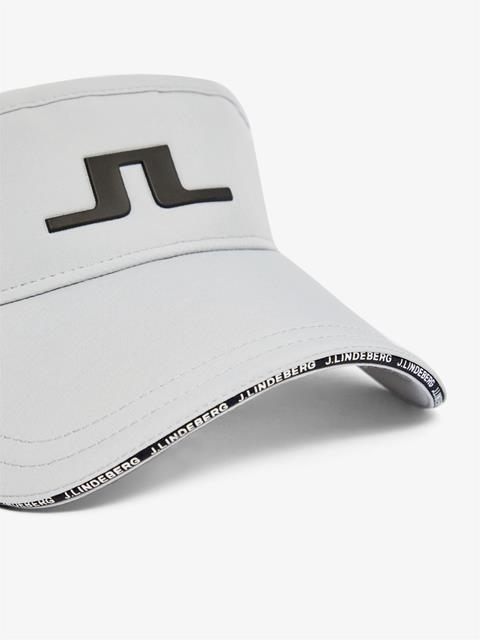 Mens Yaden Tech Stretch Visor Stone Grey
