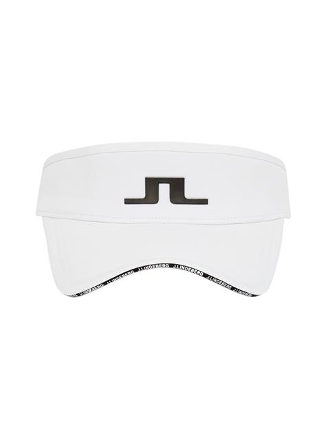 Mens Yaden Tech Stretch Visor White