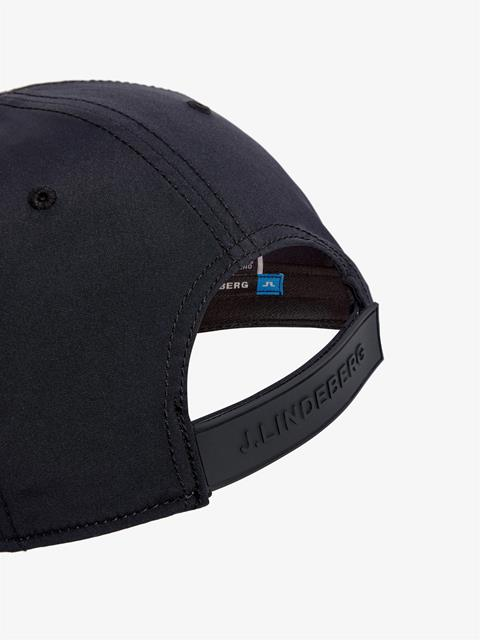 Mens Liam Tech Stretch Cap Black