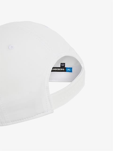 Mens Liam Tech Stretch Cap White