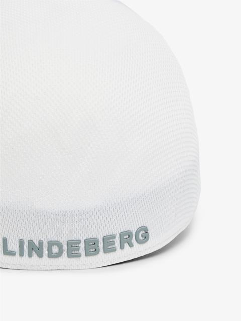 Mens Hace Seamless Cap White