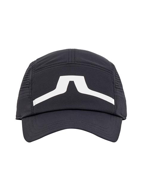 Mens Chad Micro Poly Cap Black