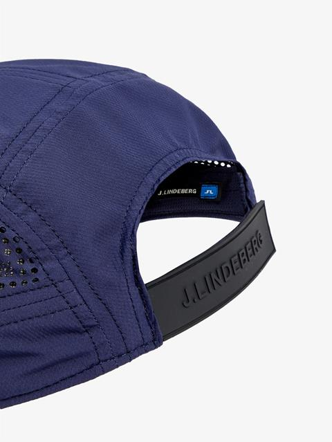 Mens Chad Micro Poly Cap JL Navy