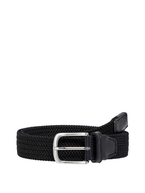 Mens Bernhard Elastic Belt Black