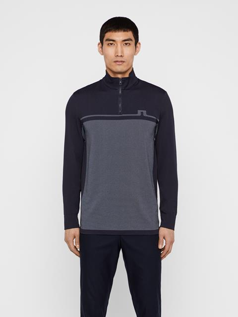 Mens Jo Seamless Midlayer JL Navy