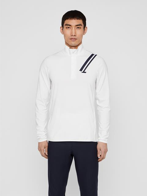 Mens Jello Light Midlayer White