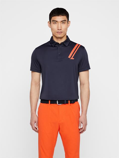 Mens Phoenix TX Coolmax Polo JL Navy