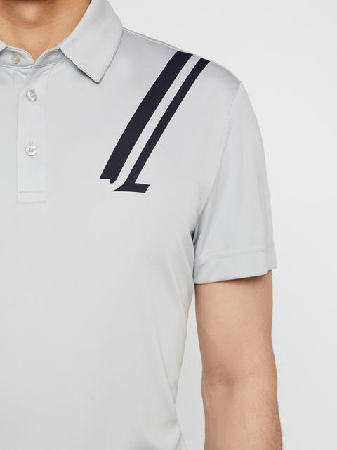 Mens Phoenix TX Coolmax Polo Stone Grey