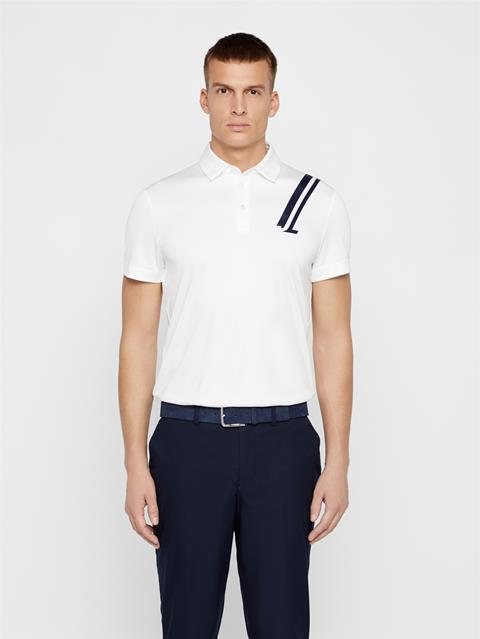 Mens Phoenix TX Coolmax Polo White