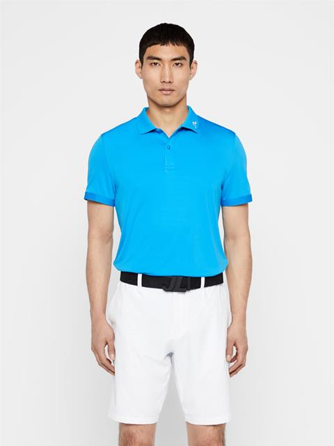 Mens Jax TX Coolmax Polo True Blue